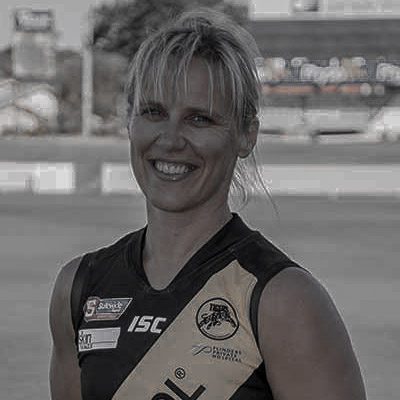 Cass Hartley AFLW Training